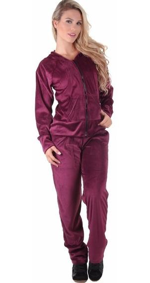 Conjunto Plush Feminino Calça + Blusa | Pijama | Moleton