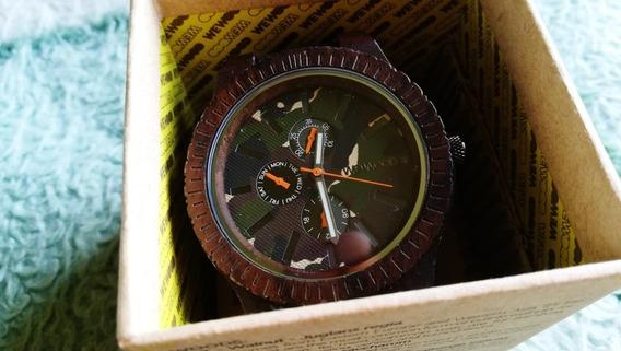 Relógio Ecológico We Wood . Troco