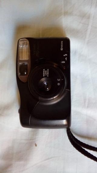 Camera Fotografica Antiga Kyocera Yashica Mg Motor