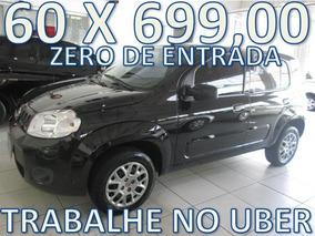 Fiat Uno Evo Vivace Flex Zero De Entrada + 60 X 699,00 Fixas