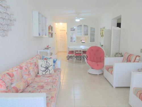 Apartamento No Centro De Pitangueiras, 02 Dormitórios, 01 Vaga De Garagem - Ap0377