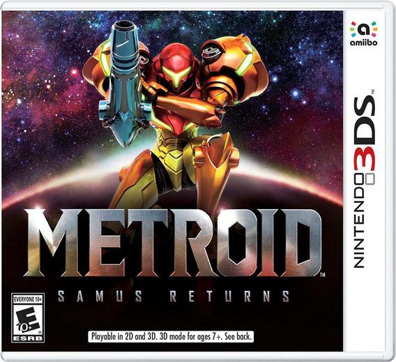 Metroid Samus Returns - Nintendo 3ds - Codigo Eshop