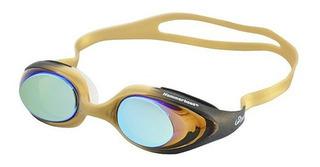 Óculos Natação Hammerhead Infinity Mirror / Preto-dourado
