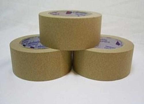 Fita Adesiva Crepe Kraft  50x50 Marrom Pct C/ 8 Rolos