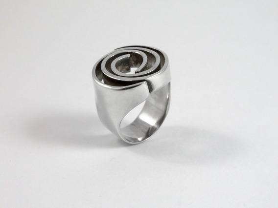 Anel Prata 950, Peça Unica
