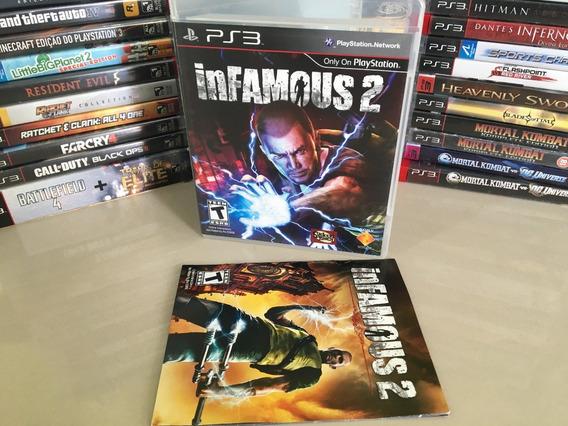 Infamous 2 Ps3 Original Português Dvd