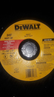Disco Dewalt Ultrafino 7