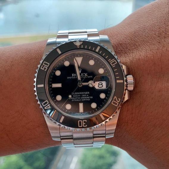 Relógio Rolex Submariner Automátic Black