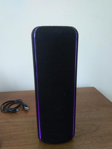 Caixa De Som Sony Bluetooth Wireless Srs-xb32 Preta