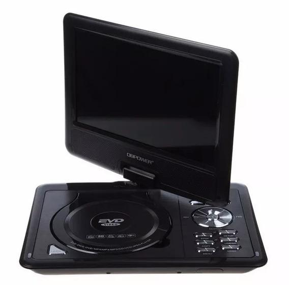 Dvd Portatil Tv Digital 9.8 Polegadas Infantil Veicular Top