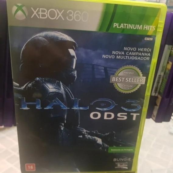 Halo 3 Odst Xbox 360 Original Completo Português Br