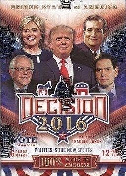 Decisión 2016 Cartas De Intercambio Político Blaster Box