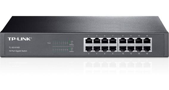 Switch Tp Link Tl-sg1016d Gigabit Switch De 16 Puertos