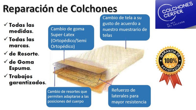 Reparar Reparacion De Colchones. Restaura Tu Colchon