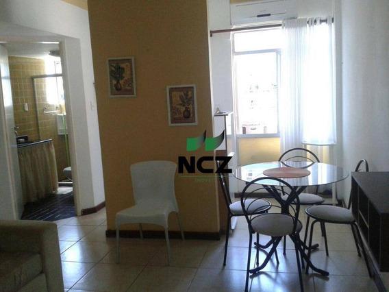 Flat Com 1 Dormitório Com Localização Privilegiáda À Venda, 60 M² Por R$ 195.000 - Itaigara - Salvador/ba - Fl0019
