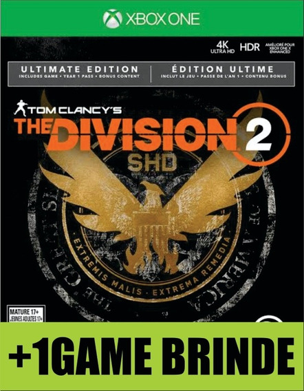 The Division 2 Ultimate Xbox One Mídia