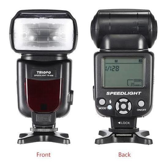 Flash Triopo Tr-950 Para Câmera Fotográfica Profissional