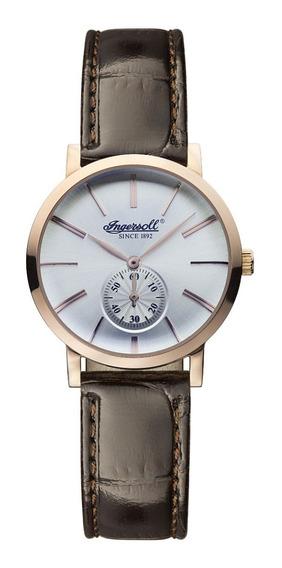 Reloj Ingersoll Dama Inq025whrs Analógico De Cuarzo