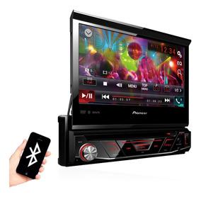 Dvd Player Pioneer Retratil Avh-3180bt Bluetooth Usb Tela 7