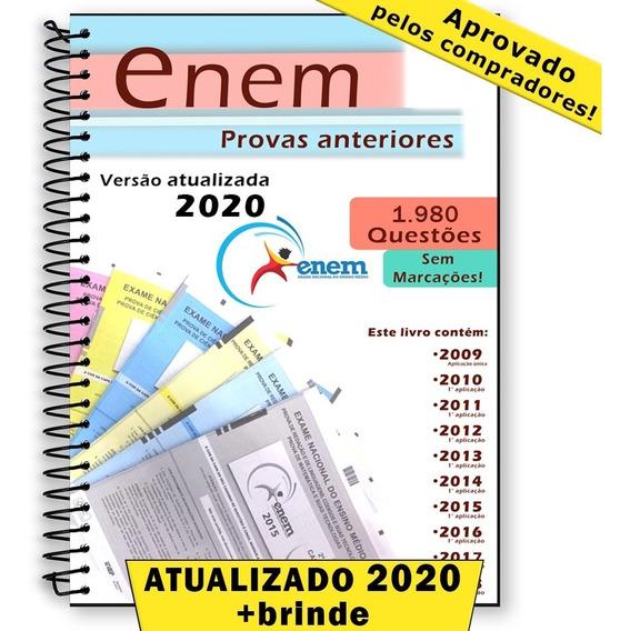 Enem 2020 Provas Edições Anteriores 2009 Até 2019 + Gabarito
