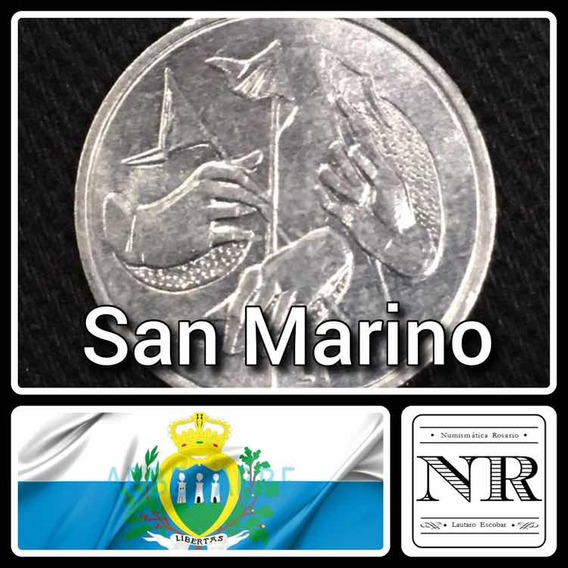1 Lira - San Marino - Año 1976 - Km# 51 - Auminio