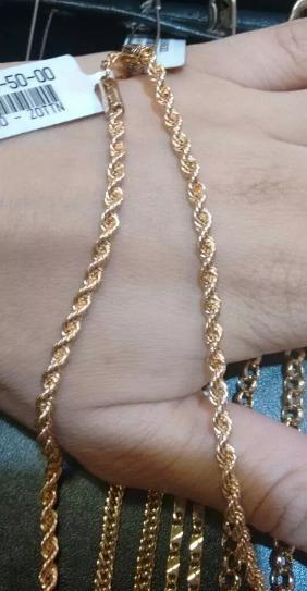 Cordão Rommanel Formado Por Fio Baiano 50cm 530589