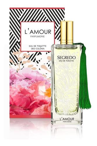 Perfume Feminino Lamour Segredo Original