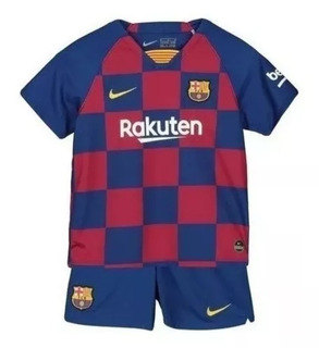 Kit Infantil Barcelona Nike Pronta Entrega Frete Grátis