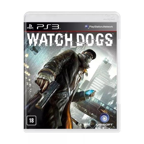 Watch Dogs - Ps 3 - Mídia Física Português Lacrado