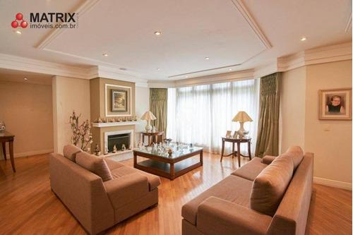 Maravilhosa Casa Super Espaçosa Com 3 Dormitórios À Venda, 890 M² Por R$ 2.900.000 - Campo Comprido - Curitiba/pr - Ca1321