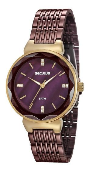 Relógio Feminino Seculus 20594lpsvys3 Super Promoção