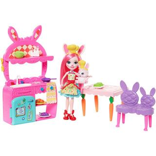 Muñeca Bree Bunny Y Figura Twist De Enchantimals + Set De