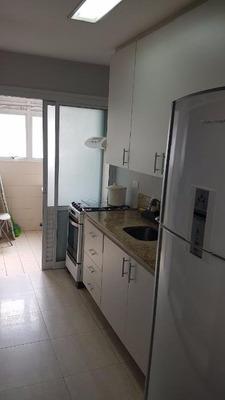 Flat Com 2 Dormitórios,, 1 Vaga E 75m² Para Locação No Brooklin - Fl3683