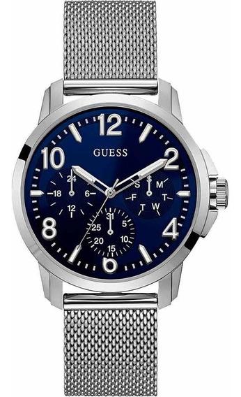 Relógio Masculino Guess 92681g0gtna1 Prata