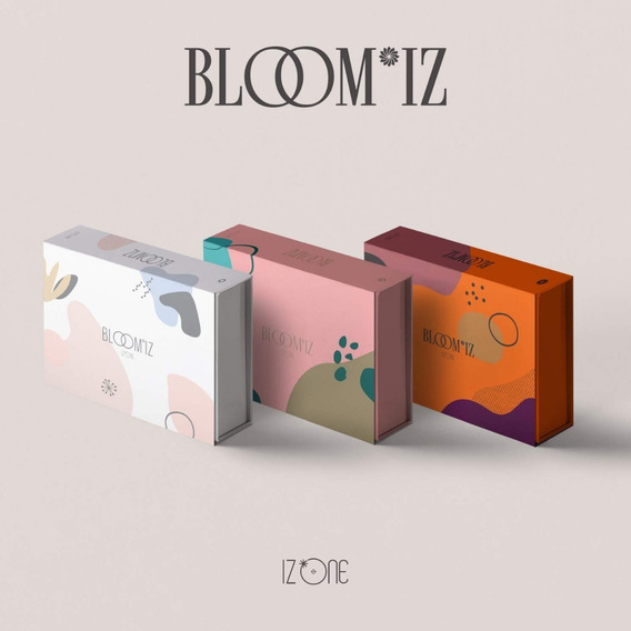 Iz One Bloom Iz Cd Nuevo Original Importado (vers Aleatoria)