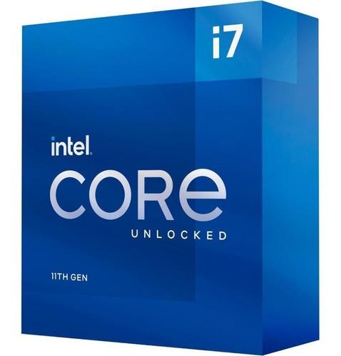 Imagen 1 de 9 de Procesador Intel Core I7-11700k 11va Gen S1200 Bx8070811700k