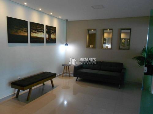 Imagem 1 de 29 de Apartamento De 2 Dormitórios, Sendo 1 Suíte, No Canto Do Forte, Em Praia Grande - Ap2437