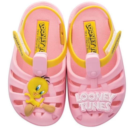 Sandália Infantil Grendene Looney Tunes Folks 22057