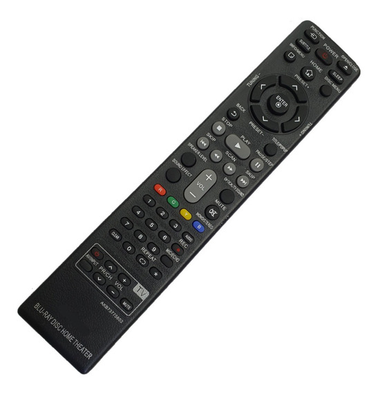 9011 Controle Remoto Home Theater Blu-ray Lg Akb73775802
