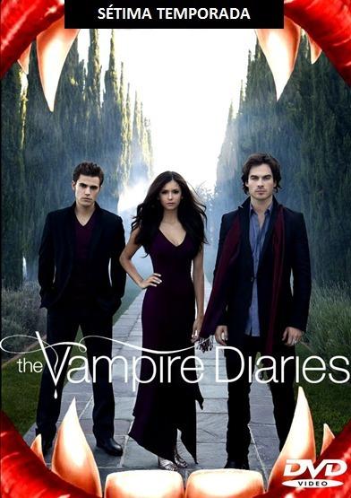 Série Diários De Um Vampiro 7 E 8 Temporadas Completas E Dub