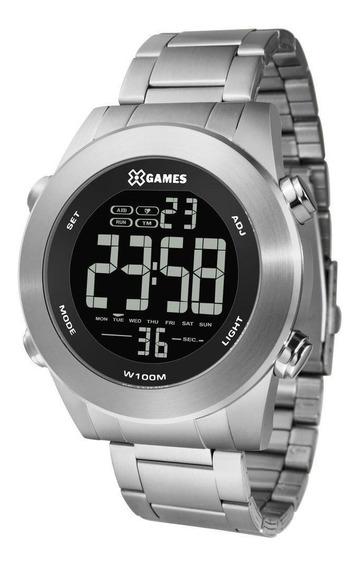 Relógio X-games Masculino Digital Prata Xmssd001 Pxsx