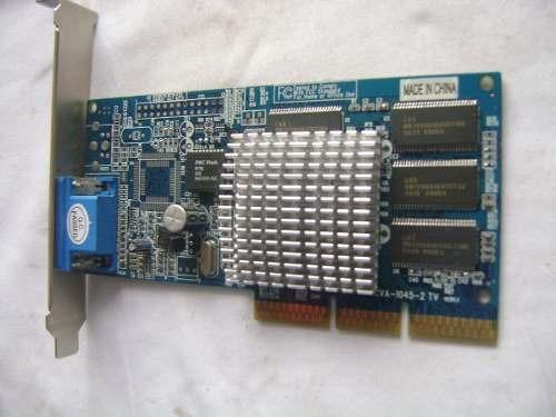 Placa De Video 128mb Agp Cva-1045-2 Tv A90-6