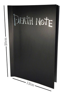 Death Note Libreta Light Ryuk L Reglas Falsas En Español