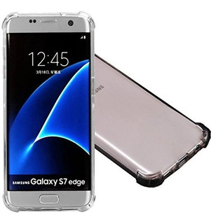 2pack Galaxy S7 Edge Clear Case, Ibarbe Slim Fit Heavy Duty