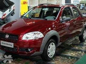 Fiat Strada Gasolera 1 Ton Retirala Solo Con Dni