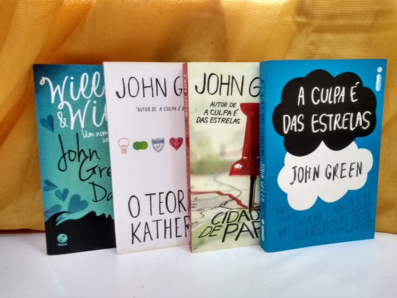 Kit Coleção John Green; 4 Volumes