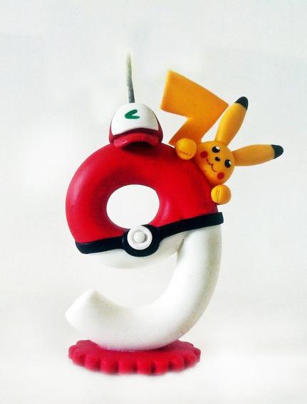 Vela Pikachu Regalo Original Personalizado