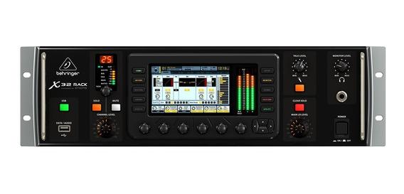 Mesa De Som 32ch C/usb/midi/fx/ph/8 Aux - X32 Rack Behringer
