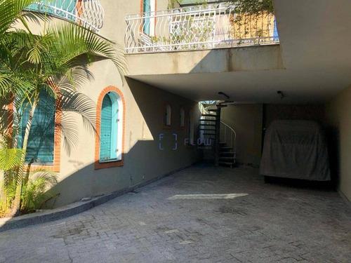 Casa 300m², 5 Dormitorios,  7 Vagas - Vila Mariana - Ca1453