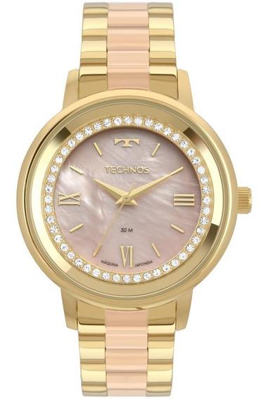Relógio Feminino Technos 2036mky/5j 40mm Aço Dourado/rose